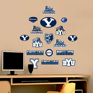 BYU Cougars - Team Logo Assortment